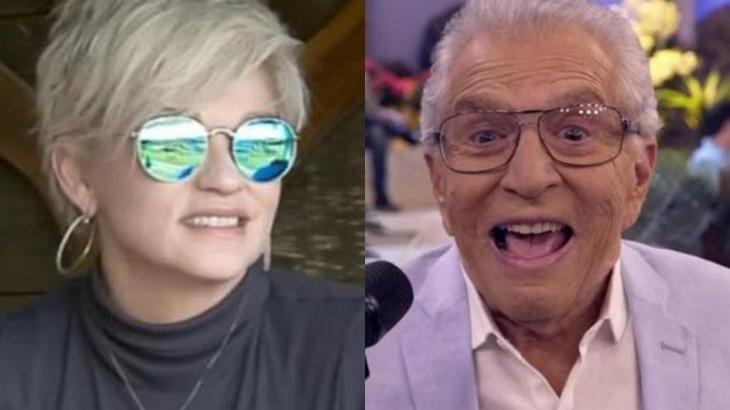 Andréa Nóbrega fala sobre Carlos Alberto de Nóbrega em A Fazenda 2019 (Reprodução/Montagem)