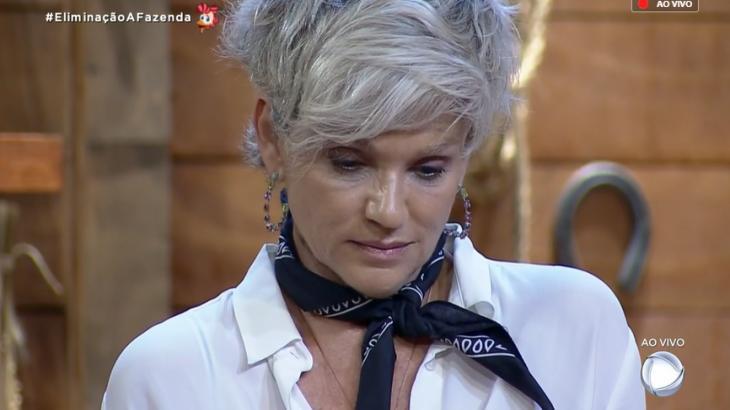 Thayse Teixeira e Andréa Nóbrega durante o reality show A Fazenda 2019 (Reprodução/Montagem)