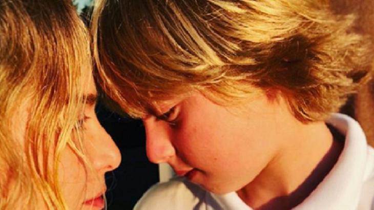 Angélica e Benício juntos - Foto: Reprodução/Instagram