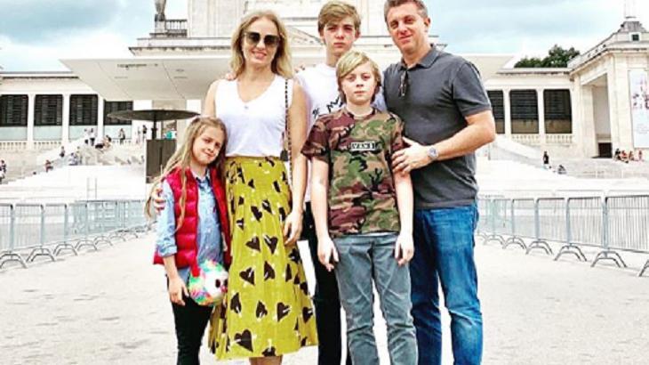 Luciano Huck e Angélica ao lado dos filhos - Foto: Reprodução/Instagram