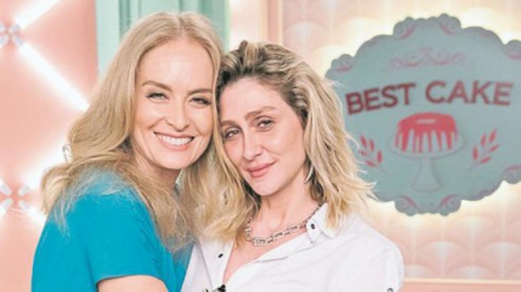 Angélica e Amora Mautner, diretora da novela - Divulgação/TV Globo