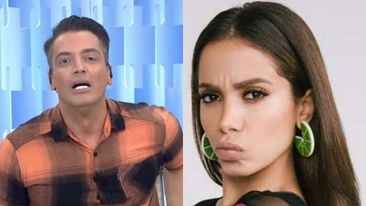 Leo Dias e Anitta - Foto: Montagem