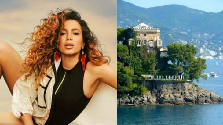 Anitta passa férias em vila na Itália avaliada em R$ 35 milhões