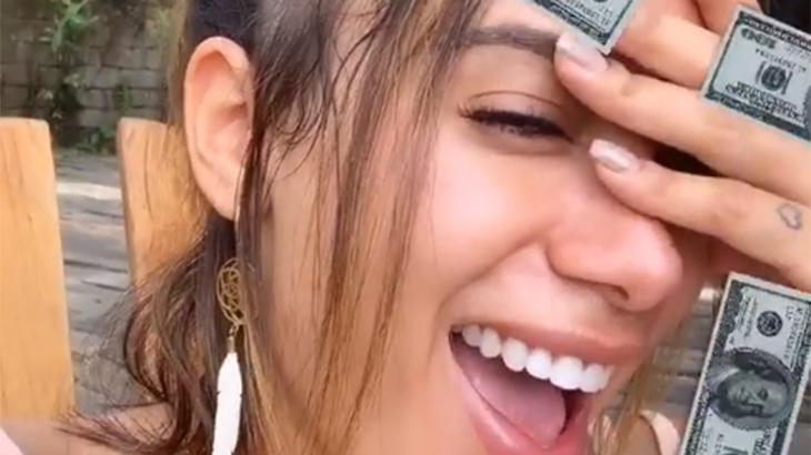 Anitta está voltando ao Brasil depois de férias na Indonésia - Reprodução/Instagram