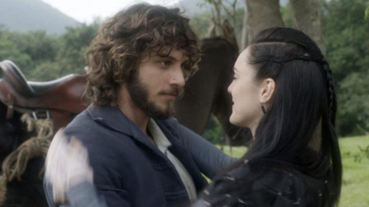 Anna e Joaquim apaixonados em Novo Mundo - Divulgação/TV Globo