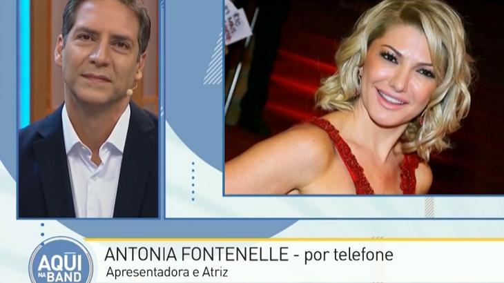 Antonia Fontenelle dispara contra Aqui na Band e Luís Ernesto Lacombe fica em saia justa