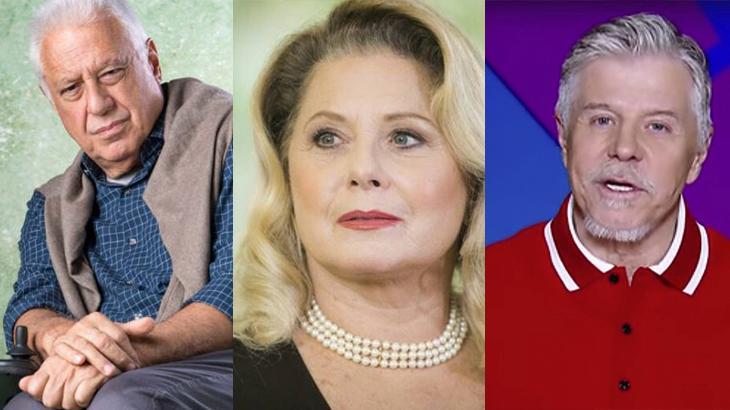 Antônio Fagundes, Vera Fischer e Miguel Falabella são três nomes que deixaram a Globo recentemente
