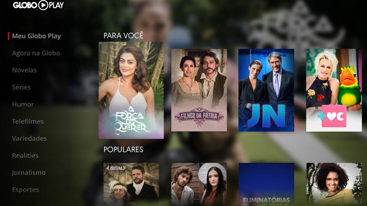 Globo Play chega à Apple TV