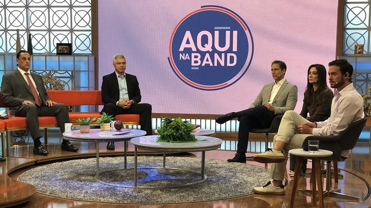 Aqui na Band debate se facada em Bolsonaro teve mandante e repercute na web