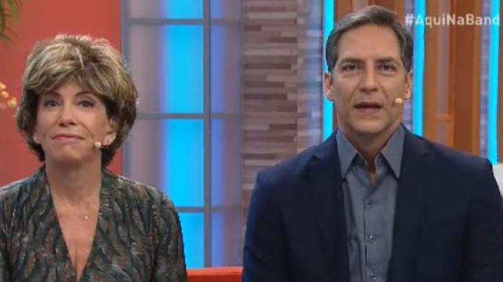 Silvia Poppovic e Luís Ernesto Lacombe no