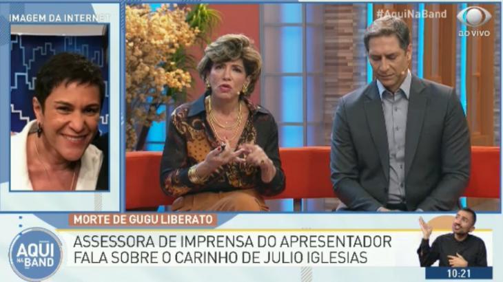 Esther Rocha falou ao Aqui na Band - Reprodução/TV Bandeirantes
