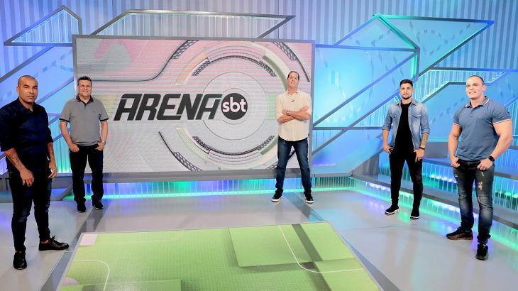 Integrantes do Arena SBT