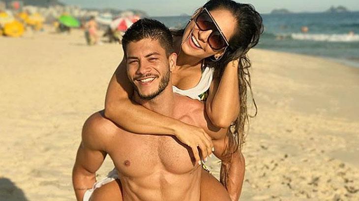 Arthur Aguiar e Mayra Cardi não abrem mão da vida saudável - Reprodução/Instagram