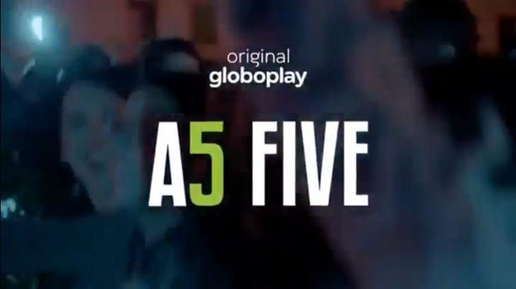 Logotipo de As Five - Foto: Reprodução/Globo