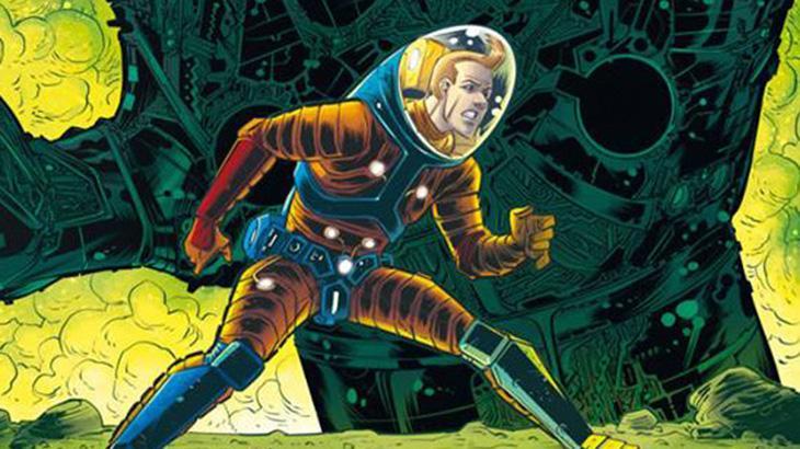 Astronauta nos traços de Danilo Beyruth