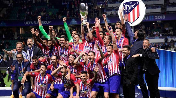 Atlético de Madrid venceu a Supercopa da UEFA