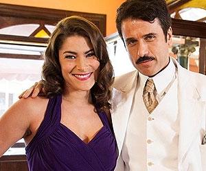 Priscila Fantin e Eriberto Leão serão dupla em