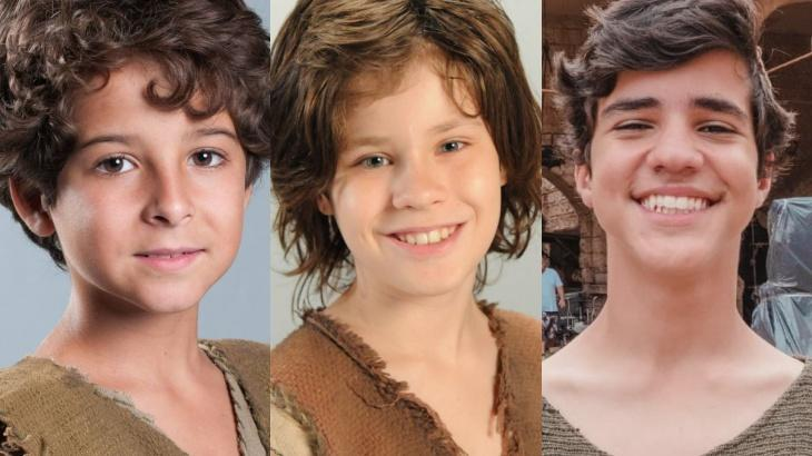 Saiba como estão os atores mirins das novelas bíblicas da Record - Foto: Divulgação/Record/Montagem