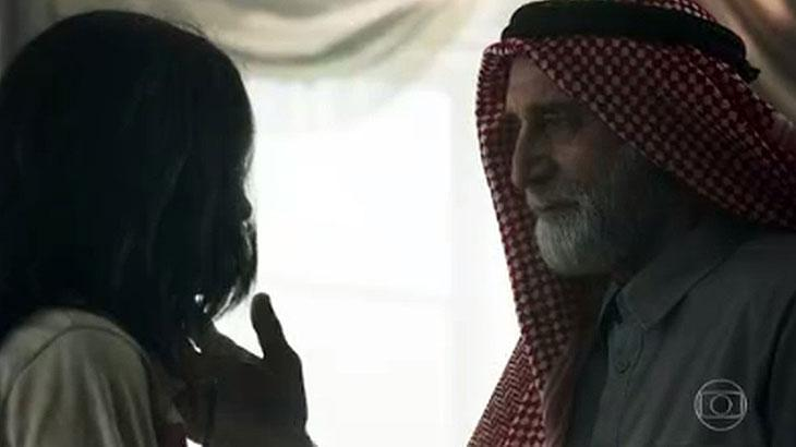 Laila e Aziz em Órfãos da Terra