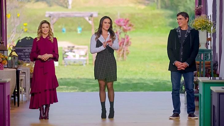 Volta do Bake Off Brasil supera último episódio do Fábrica de Casamentos