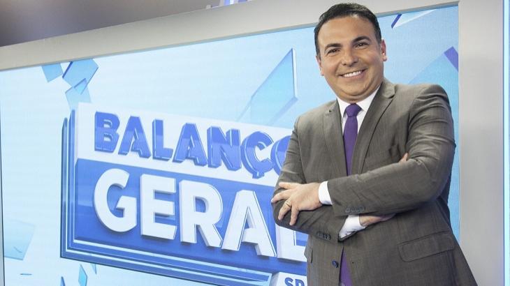 Reinaldo Gottino no cenário do Balanço Geral SP