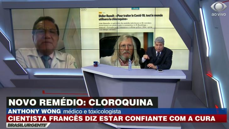 Morre médico pró-cloroquina que ganhou destaque na Band