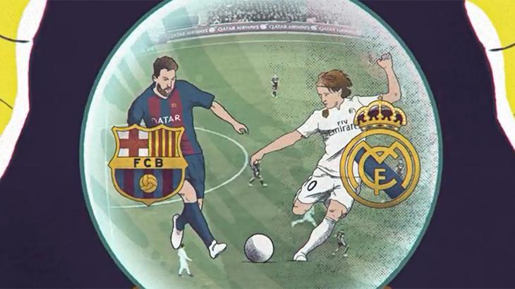 Clássico Barcelona x Real Madrid terá transmissão exclusiva pelo Fox Premium