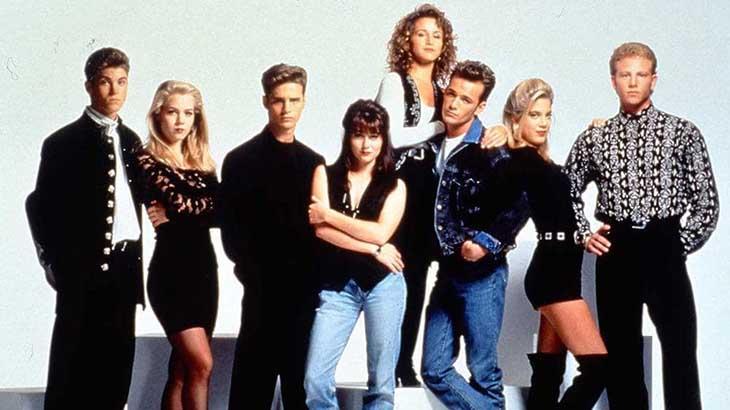 Elenco da série original na década de 90 - Divulgação
