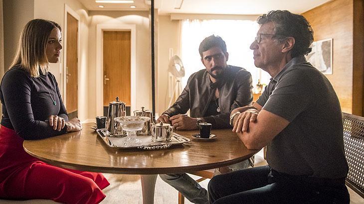 Basma, Miguel e Jamil