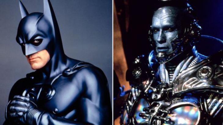 George Clooney viveu Batman e Arnold Schwarzenegger o Mr. Freeze no filme de estreia do Cine Espetacular - Divulgação/Warner