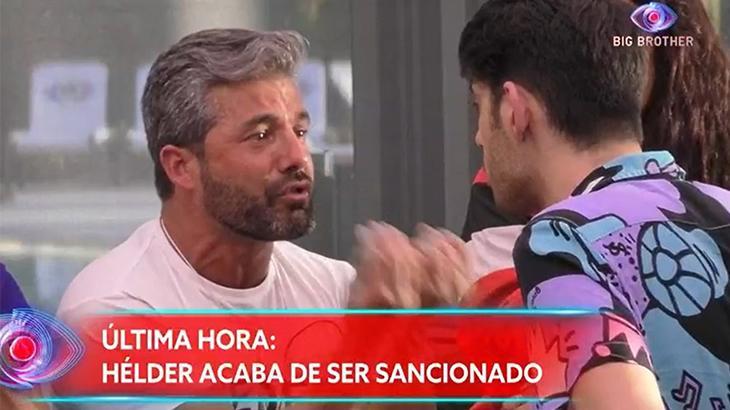 participante do Big Brother Portugal briga no ar