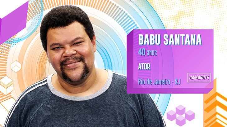Babu Santana é um dos integrantes famosos do BBB20 - Divulgação/TV Globo