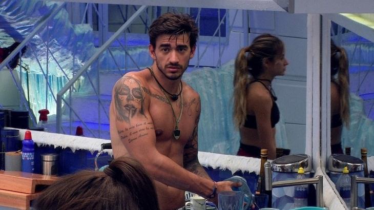 Guilherme fala de Manu Gavassi - Foto: Reprodução/Globo