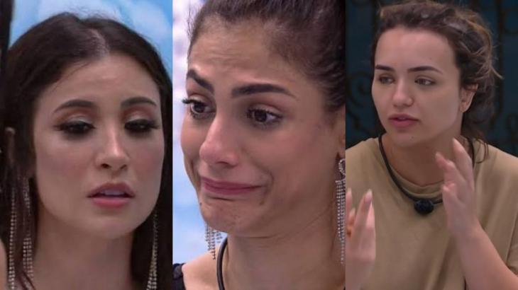 Boca Rosa, Mari Gonzalez e Rafa Kalliman se conhecem de longa data - Globo/Reprodução