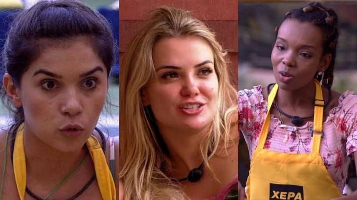 Gizelly, Marcela e Thelma são opções do líder Guilherme, no BBB20