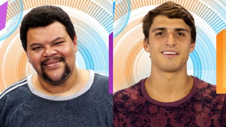 Babu Santana e Felipe foram os primeiros participantes anunciados para o BBB20 - Globo/Reprodução