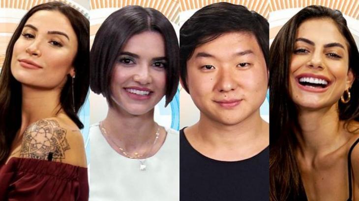 Bianca Andrade, Manu Gavassi, Pyong Lee e Mari Gonzalez impressionam pelo número de seguidores - Montagem NT