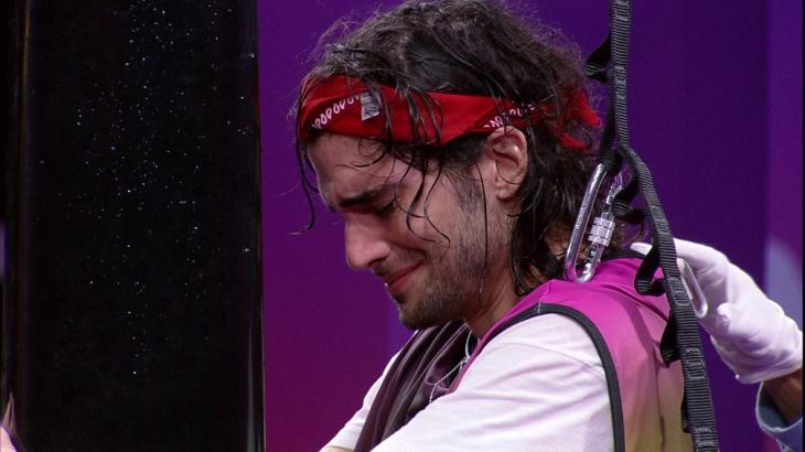 Fiuk chora durante prova do líder do BBB21
