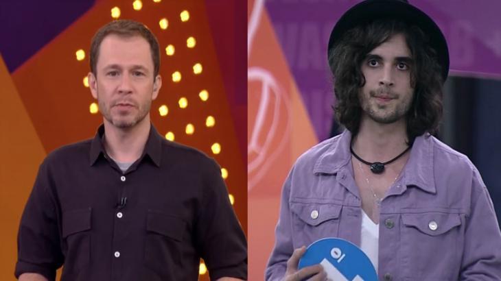 BBB21: Cinco vezes que Tiago Leifert ficou pistola com Fiuk ao vivo