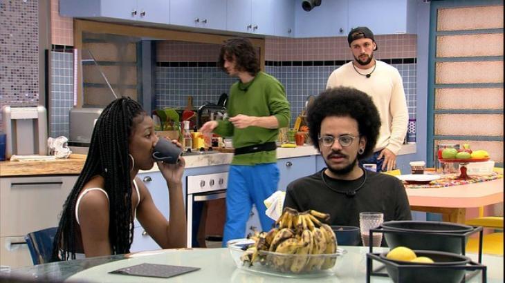 Na cozinha do Vip, Camilla de Lucas e João Luiz conversam sobre Juliette