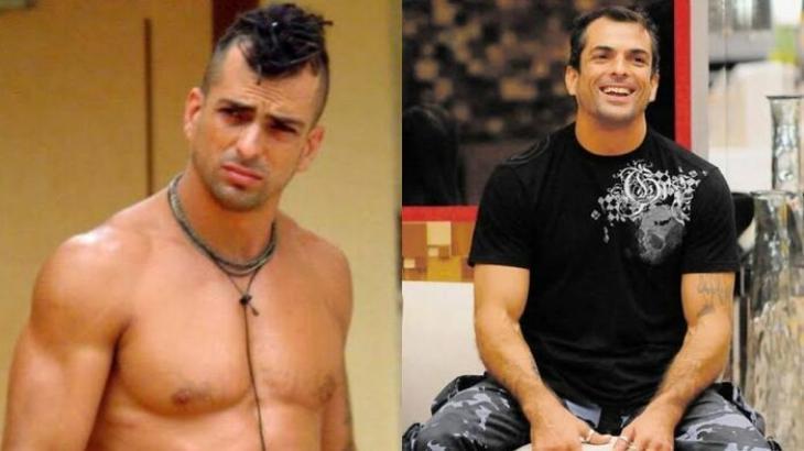 Marcelo Dourado no BBB4 e no BBB10