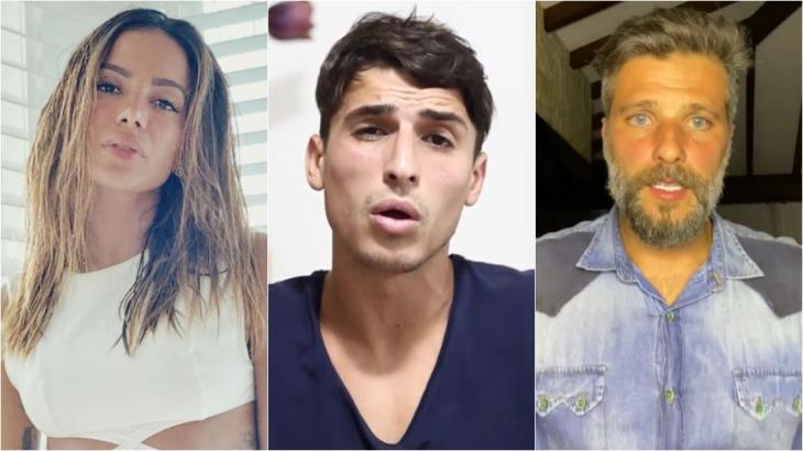 Famosos não escaparam da polêmica envolvendo o ex-BBB Felipe Prior - Fotos: Reprodução/Instagram