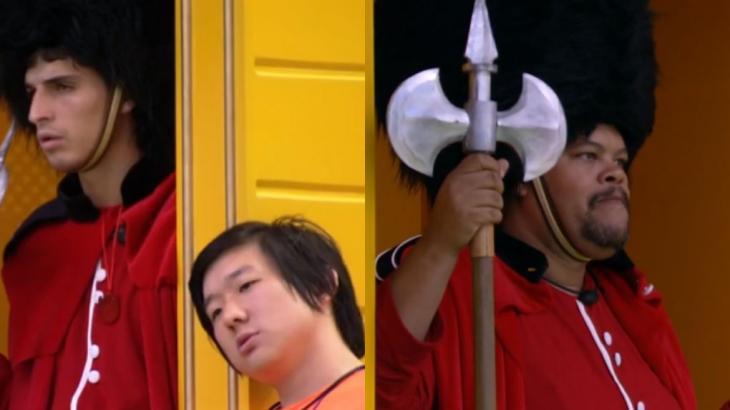 Pyong conseguiu conversar com Prior, mas levou chega pra lá de Babu - Globo/Reprodução