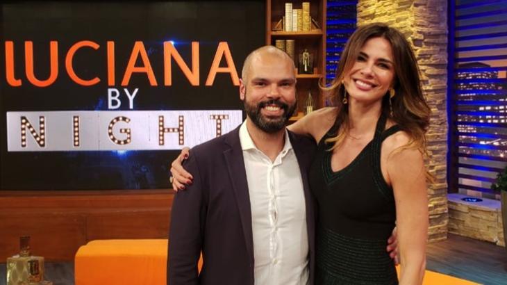 Bruno Covas e Luciana Gimenez