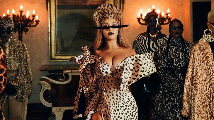 Beyoncé no clipe Black Is King