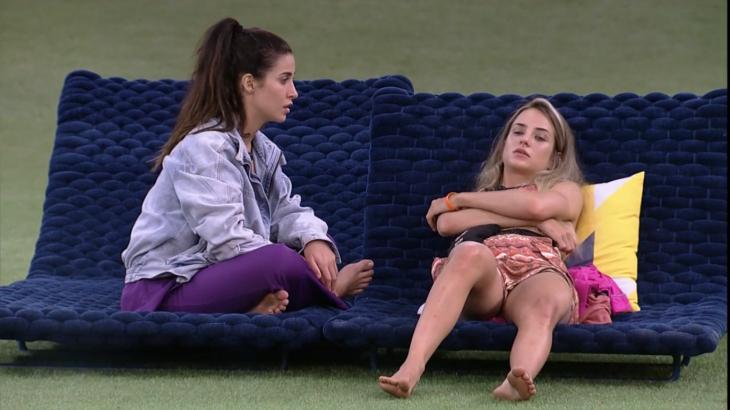 Bianca Andrade, a Boca Rosa, e Gabi Martins falam sobre Guilherme no BBB20