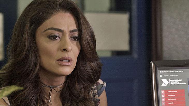 Bibi é humilhada por Rubinho e Carine em 'A Força do Querer'