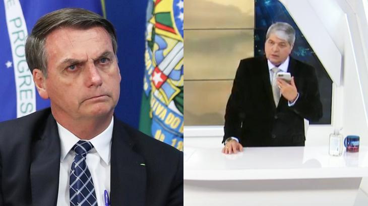 """Descontrolado na TV, Bolsonaro xinga João Dória: \""""Esse calcinha apertada\"""""""