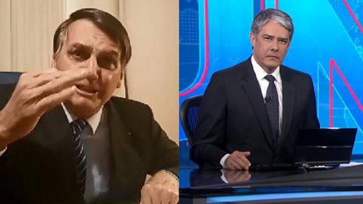JN bate recorde com guerra contra Bolsonaro. Foto: Montagem