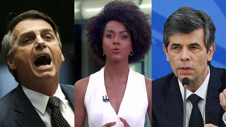 Globo anunciou saída de Ministro - Foto: Montagem